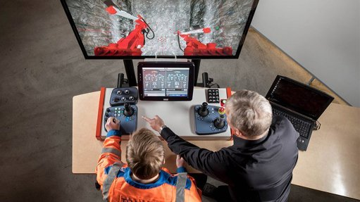 Underground drill operator training simulator launched