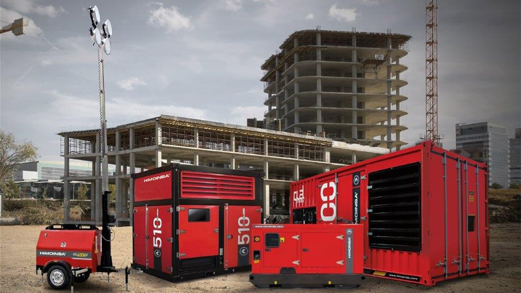BESPOKE DESIGNS Himoinsa is investing significantly in its generator and lighting tower designs for specific local requirements