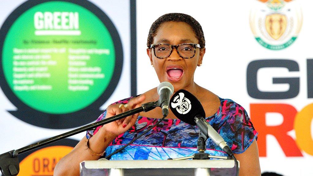 ANCWL President Bathabile Dlamini