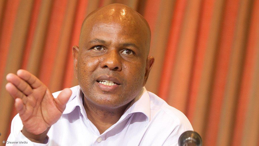 AMCU president Joseph Mathunjwa