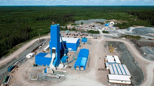 Timmins West mine, Canada