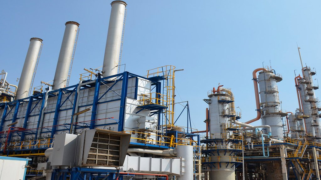 An Egyptian petrochemical plant