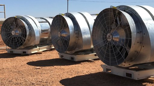 Secondary mine ventilation system cutting costs