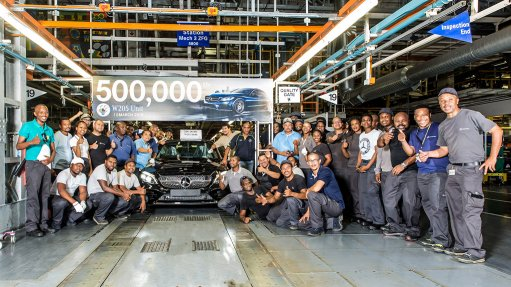 Mercedes-Benz South Africa produces 500 000th W205 C-Class