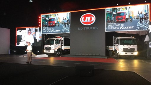 UD Trucks re-enters small truck market; launches improved Quester with AMT