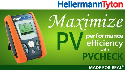 Maximize PV performance efficiency with PVCHECK