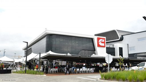 Cummins consolidates business units at new multimillion-rand premises