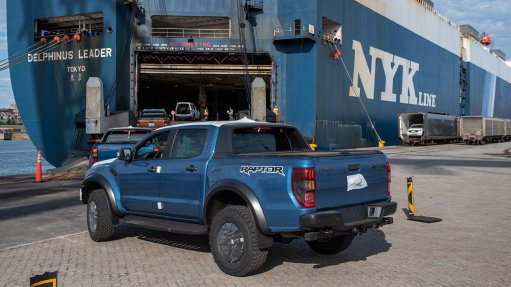 Ford adopts dual-port strategy, moves exports through Durban, PE