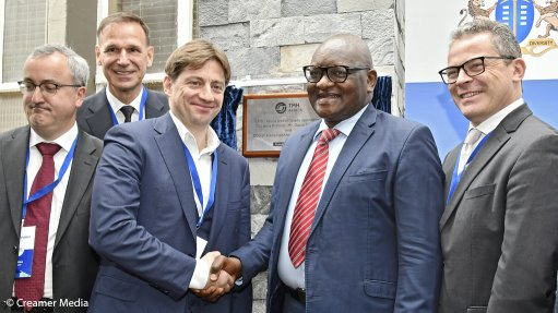 TMH Africa unveils rolling stock factory in Boksburg