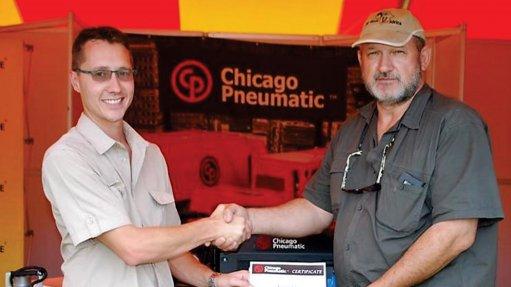 Chicago Pneumatic galvanises generator expertise at MTE Phalaborwa