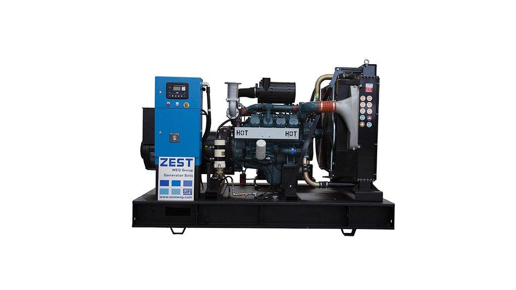 HOT HOT HOT The Doosan generator is one of the long term - mid range - solutions Zest WEG offers