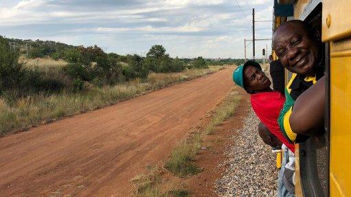 Ramaphosa visits Prasa about rail improvements