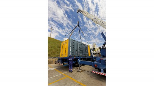 Compressor supplier offering containerised solution