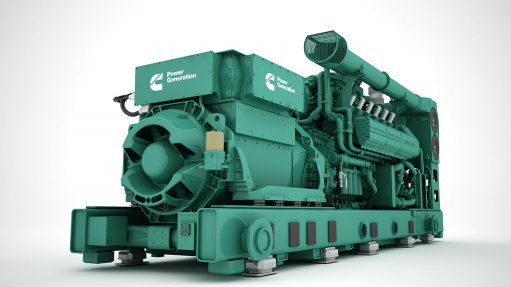 Company launched natural gas gensets at electricity show in Dubai