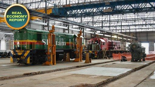Traxtion showcases new Rosslyn-based locomotive maintenance, refurbishment facility