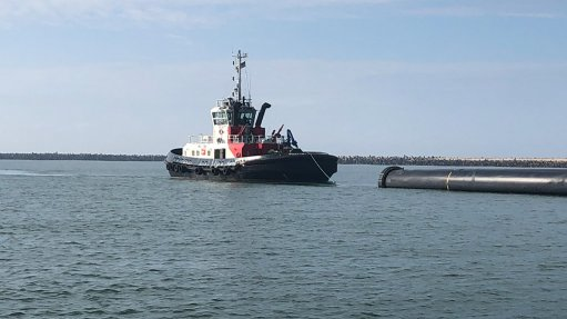 TNPA provides emergency assistance to pipe-towing tug