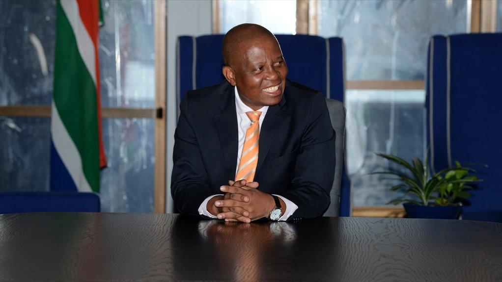 City of Johannesburg Mayor Herman Mashaba
