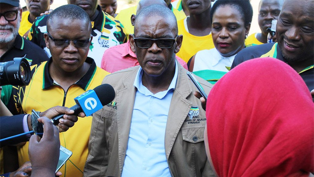 ANC secretary general Ace Magashule
