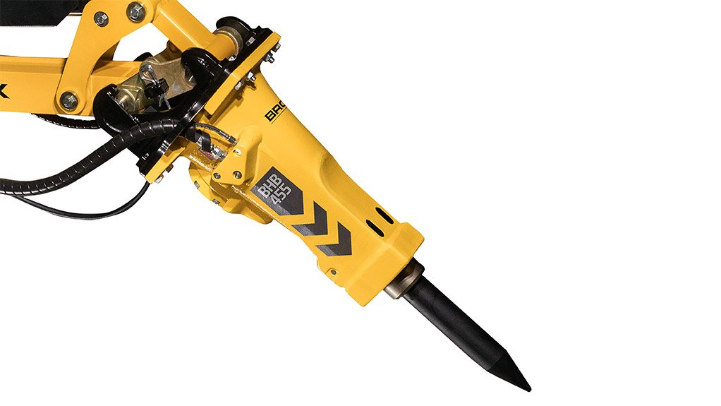 BROKK HYDRAULIC BREAKER SERIES  The breakers match the company's full range of remote-controlled demolition robots