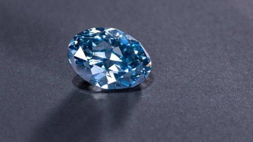 ODC unveils 'iconic' Okavango Blue diamond