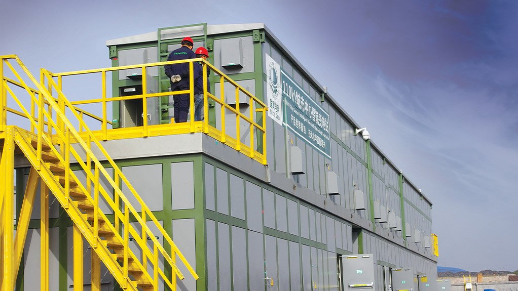 SPECIFIC SOLUTION TGOOD's electrical houses are built according to clients' specifications