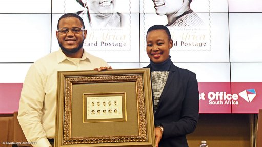 Post Office launches commemorative Mama Sisulu stamp