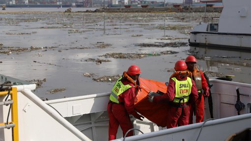 Transnet spends days cleaning up pollution at Durban port following storm