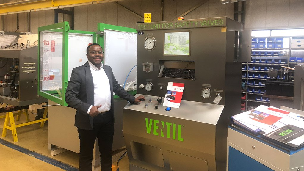 MOEKETSI MPOTU The Internet of Things will enable valves, piping and associated accessories maintenance providers to store vast amounts of data