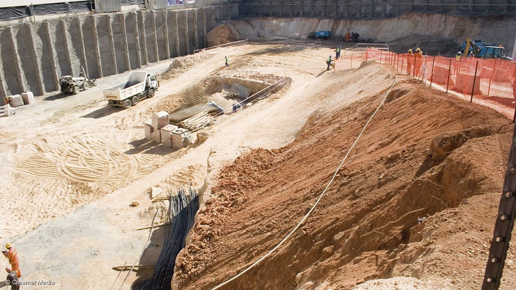 """ON ITS KNEES The construction industry is currently """"dismal and pitiful"""" considering the inherent infrastructure that exists in South Africa and the opportunities that abound"""