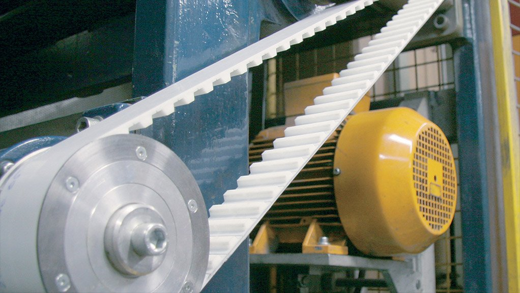 HIGH-PERFORMANCE BELTS These Flex belts are ideal for transporting heavy loads and are therefore suitable for use in high-performance conveyor systems
