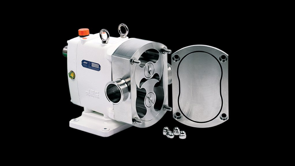 STICKY STUFF The JEC brand of pumps is not only hygienic but also capable of pumping a variety of viscous liquids