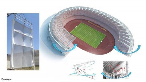 AECOM cuts stadium design-and-build to a record two years at Japoma