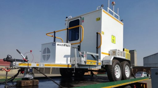 Locally-manufactured mobile stations delivered to Botswana mine