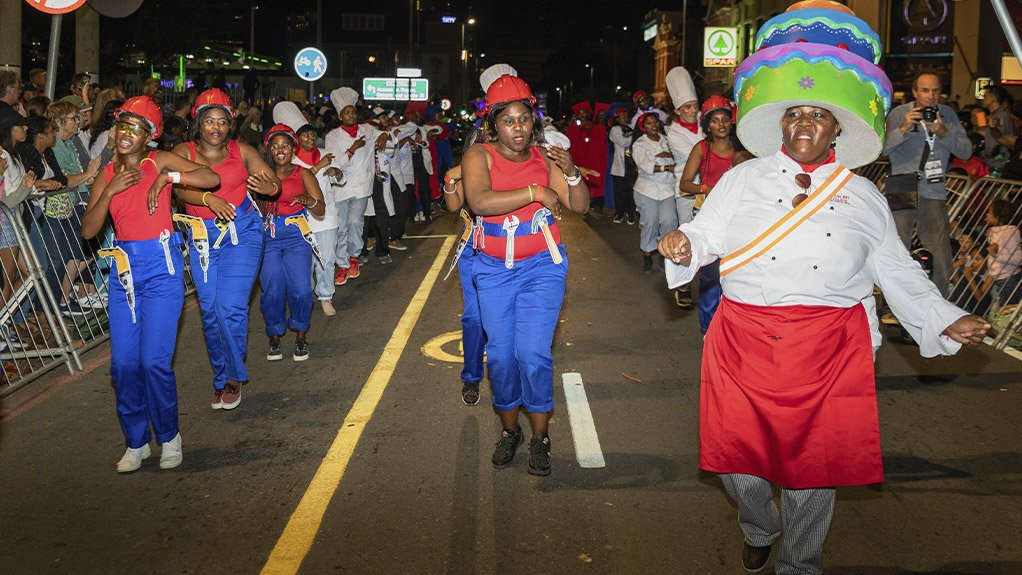 College Rises and Shines at Cape Town Carnival