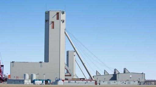 The Jansen mine shaft in Canada's Saskatchewan