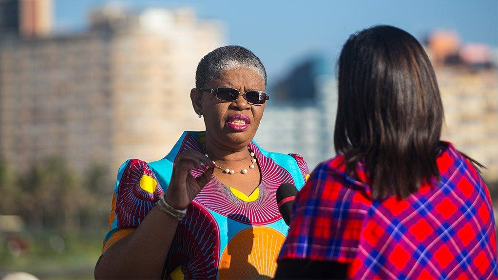 eThekwini mayor Zandile Gumede