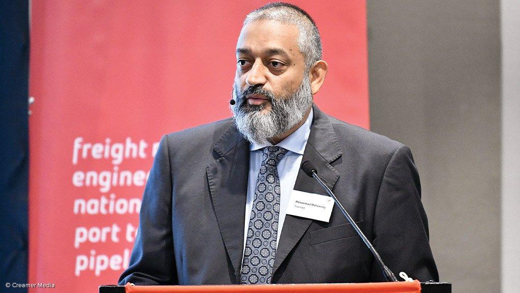 Acting Transnet CEO Mohammed Mahomedy