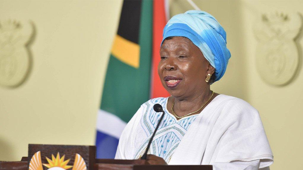 Minister in the Presidency Nkosazana Dlamini Zuma