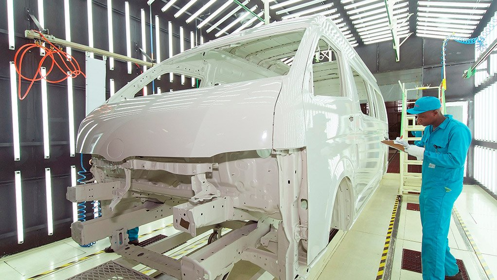 Quantum production at Toyota's Durban plant