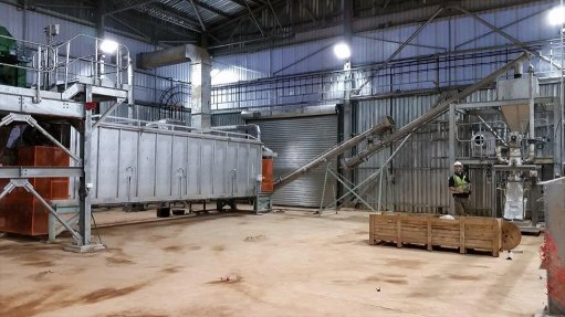 Commissioning of tin concentrate dryer finalised