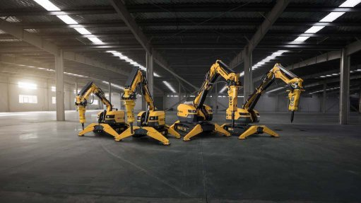 Demolition robot extends its reach