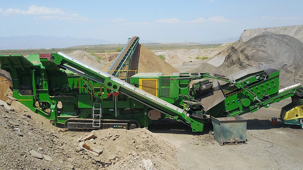 COMMENDABLE CRUSHING  The I54Rv3 impact crusher operates efficiently in various applications. These include asphalt and concrete recycling, rock crushing, construction, mining and demolition