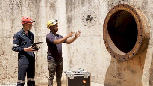 Skyriders Elios SkyEye drone powers up emergency tube-leak inspection