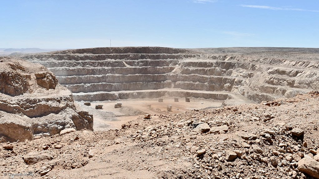 Vedanta's Gamsberg mine, in the Northern Cape