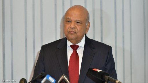 Gordhan files review application, asks court to set aside Mkhwebane's report