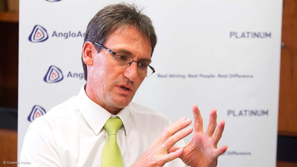 Anglo American Platinum CEO Chris Griffith.
