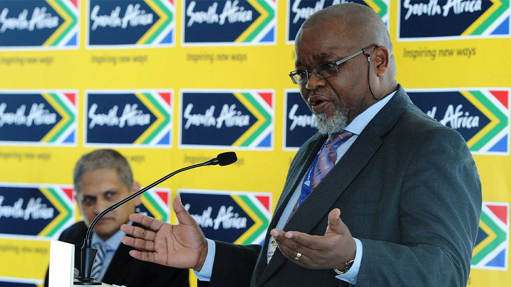Mineral Resources and Energy Minister Gwede Mantashe