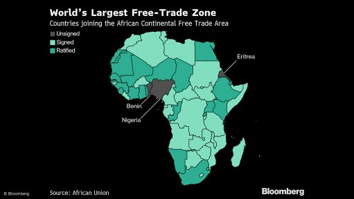 What trade war? Africa sidesteps tariffs, starts free-trade pact