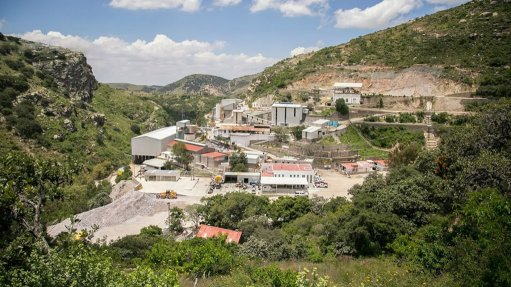 El Cubo mine, Mexico