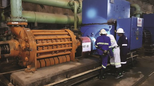 Zambia mine's pump motors rehabilitated